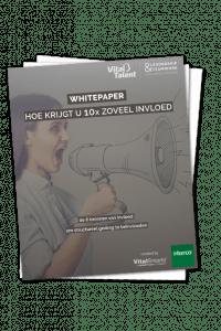 Whitepaper 'Hoe krijgt 10x zoveel invloed'