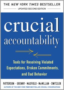 Vitalsmarts Crucial Accountability book